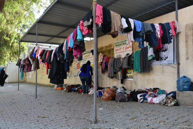 Kerkük'te ihtiyaç sahipleri için ''Merhamet duvarı''