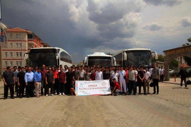 Başarılı öğrenciler Çanakkale ve Bursa gezisiyle ödüllendirildi