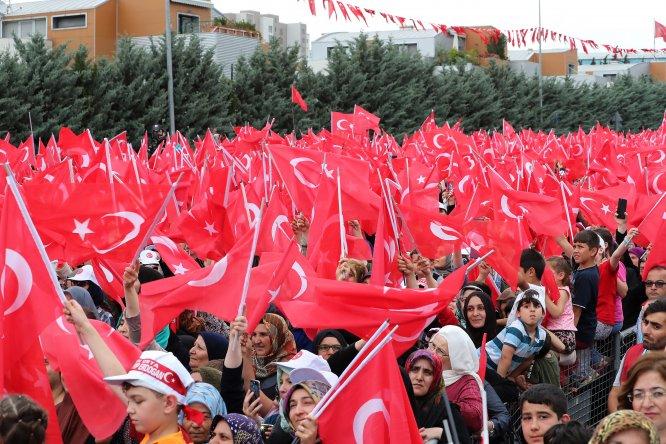 Sancaktepe'de toplu açılış töreni