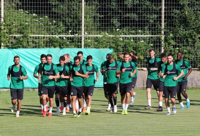 Konyaspor'un Bolu kampı başladı