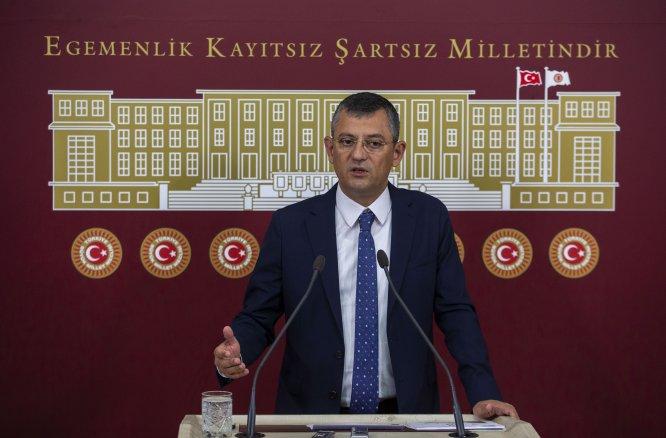 CHP'li Özel'den Meclise