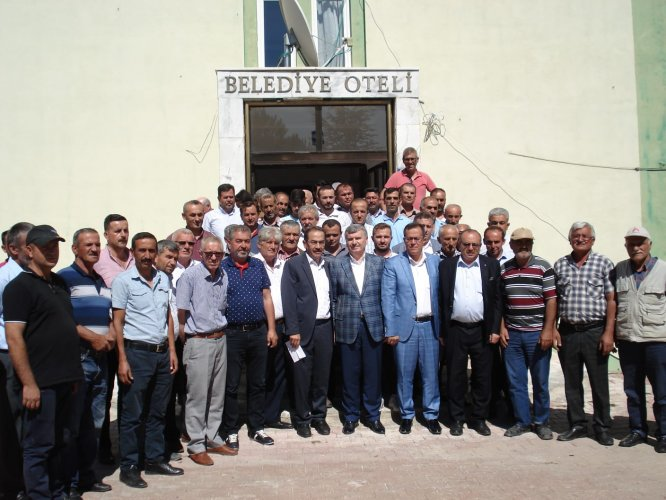 AK Parti Hadim İlçe Danışma Meclisi toplantısı yapıldı
