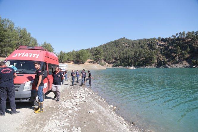 Baraj göletine giren genç boğuldu