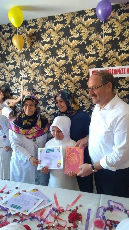 Minik öğrencilerin Kur'an-ı Kerim heyecanı