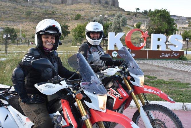 Motosikletle dünya turuna tekrar başlayacak