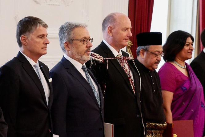 Büyükelçi Kılıç, Endonezya Devlet Başkanı'na güven mektubunu sundu