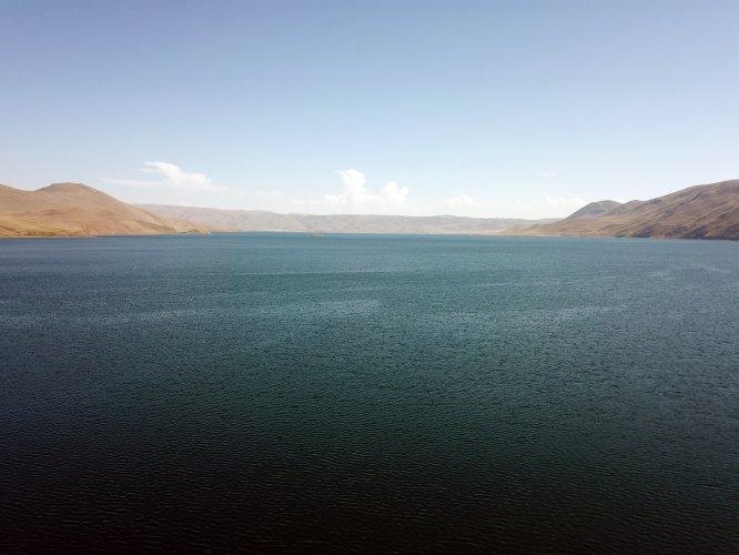 Balık Gölü'nde bayram tatili yoğunluğu