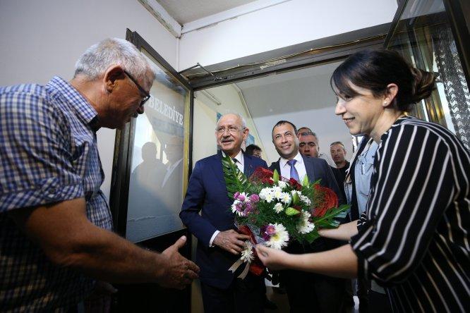 CHP Genel Başkanı Kılıçdaroğlu'ndan belediyelere ziyaret