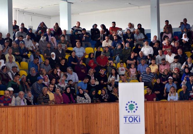 Kırıkkale'de TOKİ konutlarının hak sahipleri kurayla belirlendi