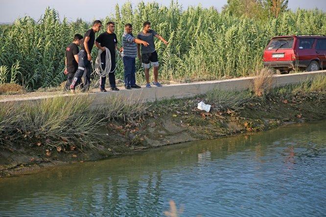 GÜNCELLEME - Adana'da sulama kanalına giren genç öldü