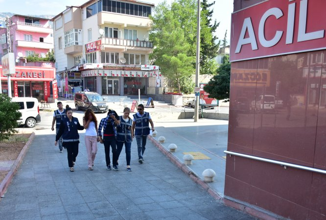 Kahramanmaraş'ta hırsızlık operasyonu