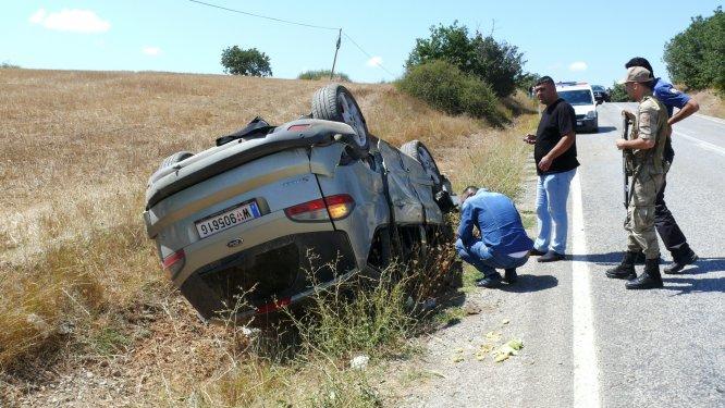 Tokat'ta iki otomobil çarpıştı: 7 yaralı