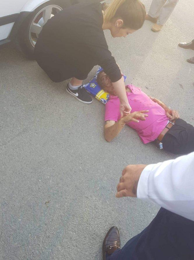 Kahramanmaraş'taki silahlı kavga güvenlik kamerasına yansıdı