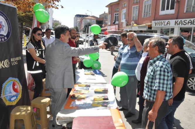 Yerköy'de madde bağımlılığı ile mücadele