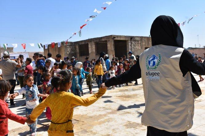 """Suriye'de çocuklar için """"Sınırsız Şenlikler"""" etkinliği sürüyor"""