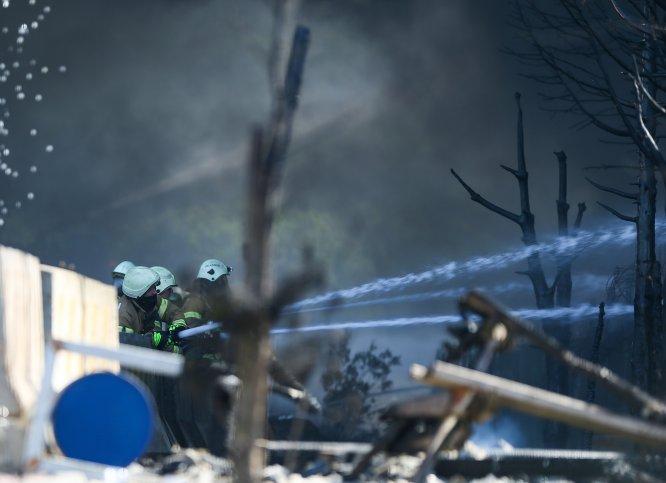 GÜNCELLEME 8 - Tuzla'da fabrika yangını