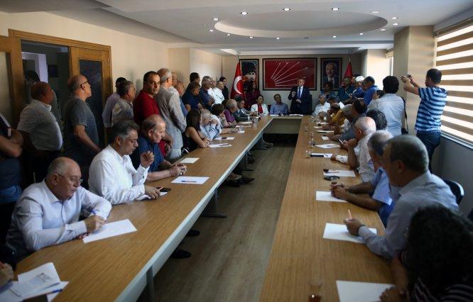 CHP Genel Başkan Yardımcısı Kaya, Adana'da