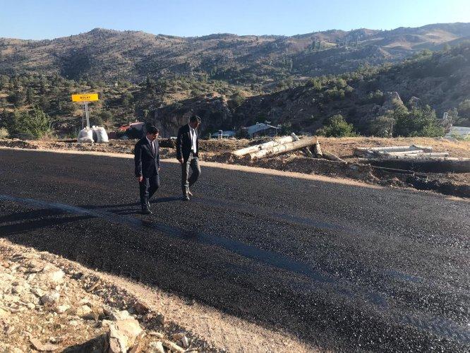 Taşkent'te asfalt çalışmaları