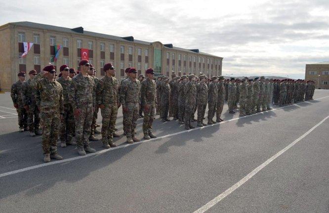 Türkiye, Azerbaycan ve Gürcistan'dan ortak tatbikat