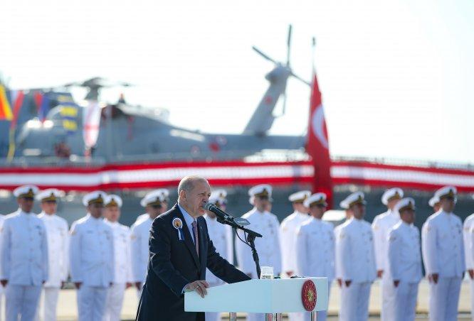 Milli savaş gemisi Kınalıada Deniz Kuvvetleri'ne teslim edildi