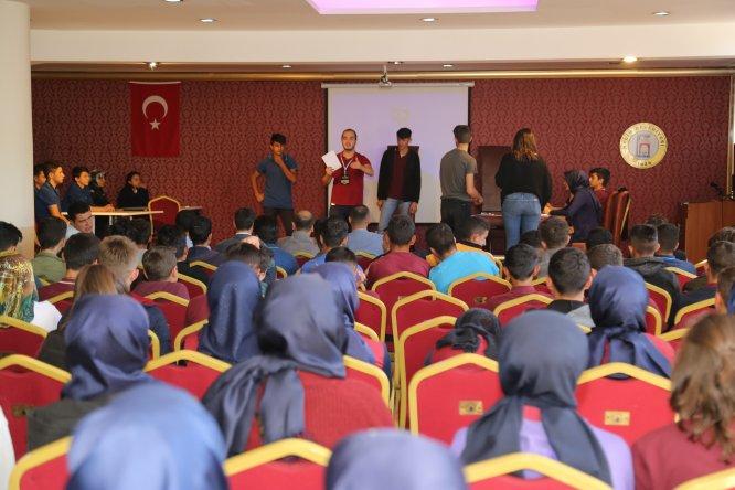 Hadim'de münazara yarışması düzenlendi