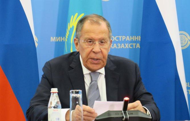 Tleuberdi-Lavrov ortak basın toplantısı