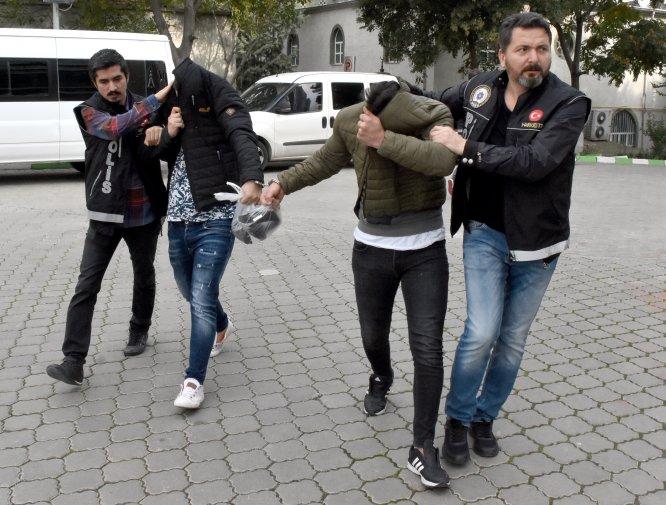"""GÜNCELLEME - Samsun ve Balıkesir'deki """"torbacı"""" operasyonu"""
