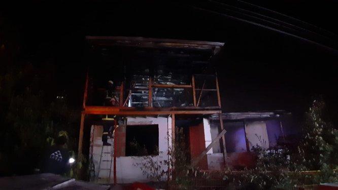 GÜNCELLEME - Kayınpederin gelininin evini yaktığı iddiası