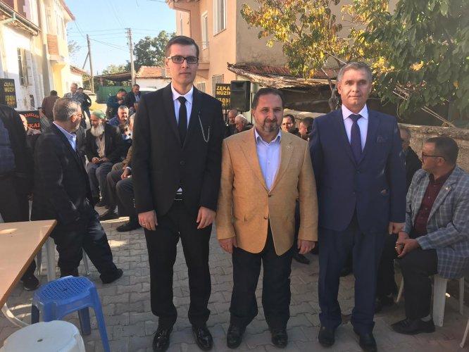 AK Parti Konya Milletvekili Özdemir, yeğeninin düğüne katıldı