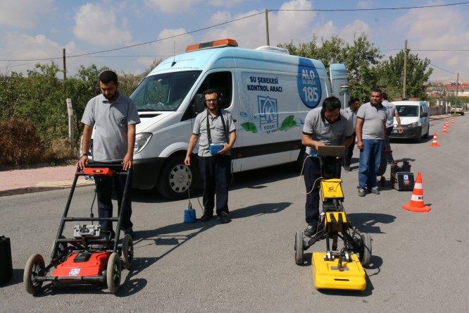 Konya Büyükşehir Belediyesi'nden su kayıp ve kaçaklarına teknolojik müdahale