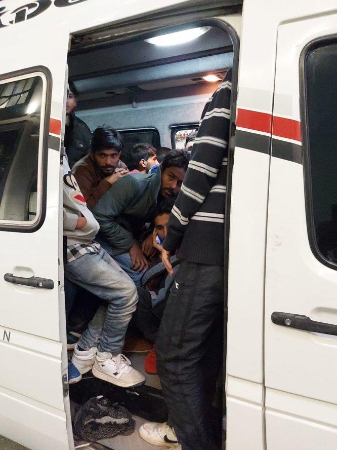 Yasa dışı göç yolculuğu Ankara'da son buldu