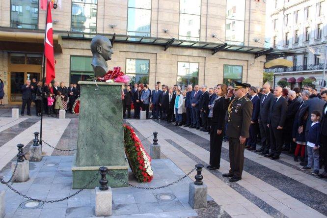 Büyük Önder Atatürk Balkanlar'da anıldı