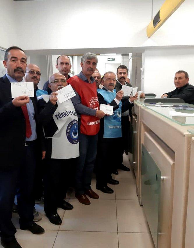 Türkiye Kamu-Sen Kırşehir temsilciliğinden mektup eylemi