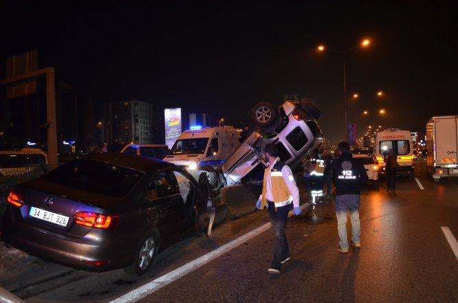 Kadıköy'deki zincirleme kaza trafikte yoğunluğa neden oldu