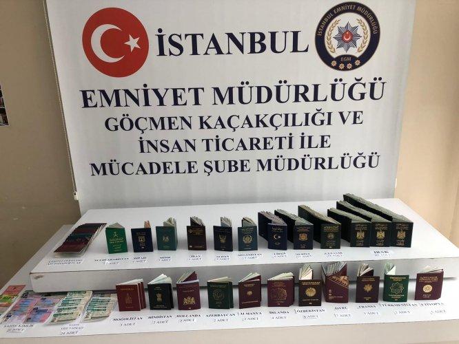 İstanbul'da göçmen kaçakçılığı operasyonunda 10 kişi tutuklandı