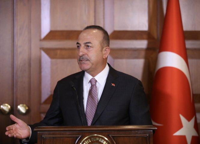 Çavuşoğlu-Barzani ortak basın toplantısı