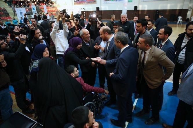 """Bilal Erdoğan: """"Her geçen sene ülkemizde engellilerin imkanlarının arttığını göreceğiz"""""""