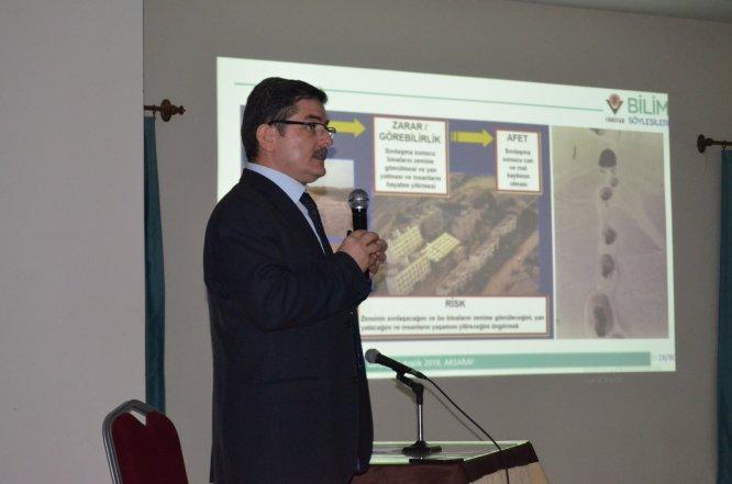 Aksaray'da TÜBİTAK Bilim Söyleşileri