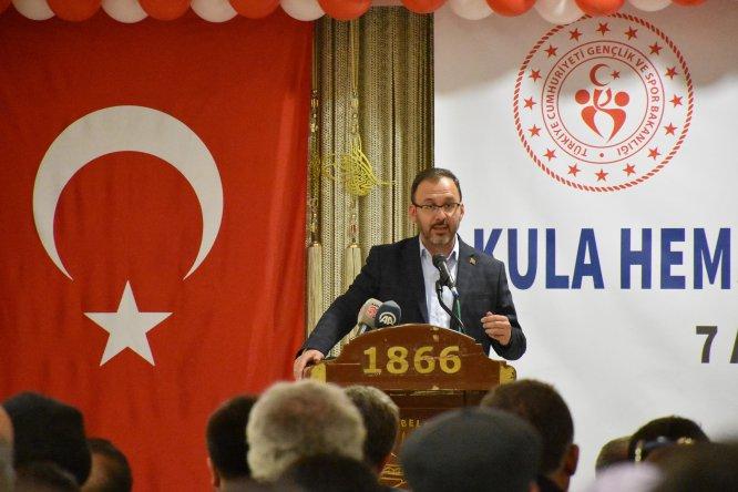 Bakanlar Kasapoğlu, Pekcan ve Turhan Manisa'da hemşehri buluşmasına katıldı