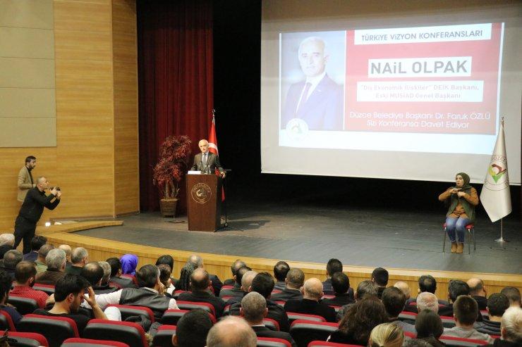 DEİK Başkanı Olpak'tan Merkez Bankası'nın faiz indirimi değerlendirmesi: