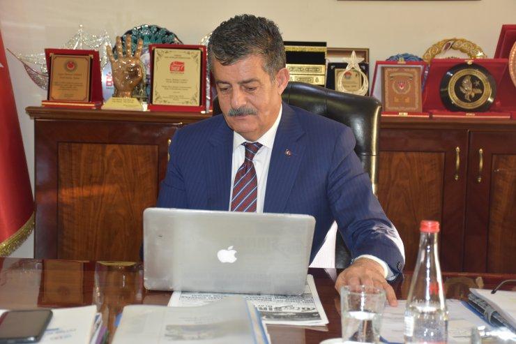 """Şırnak Belediye Başkanı Yarka, AA'nın """"Yılın Fotoğrafları"""" oylamasına katıldı"""