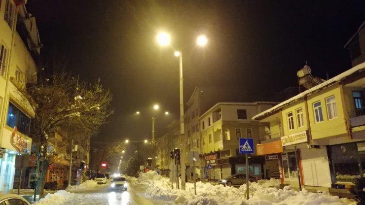 Kahramanmaraş'ın Göksun ilçesine elektrik verilmeye başlandı