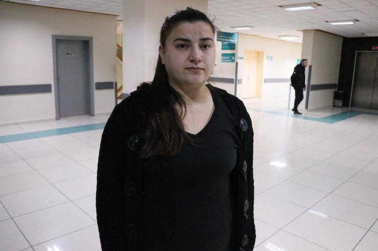 Samsun'da eşi tarafından darbedilen kadının tedavisi sürüyor
