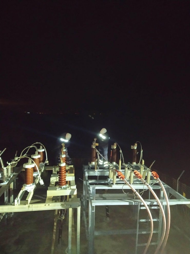 Marmara Adası'nda elektrik kesintisine yol açan kablo arızasının yeri belirlendi