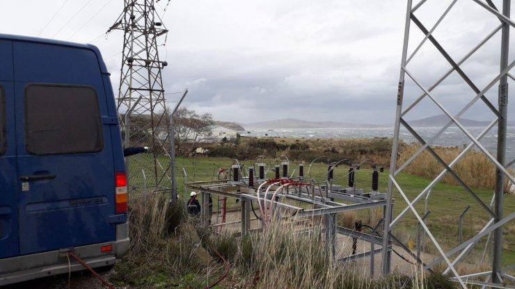 GÜNCELLEME - Marmara Adası'nda elektrik kesintisine yol açan kablo arızasının yeri belirlendi
