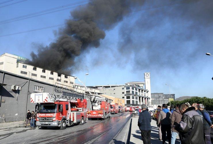 GÜNCELLEME 2 - Başakşehir'de iş yeri yangını