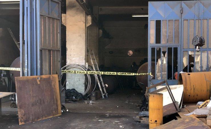 GÜNCELLEME - Başakşehir'de sanayi sitesinde patlama: 1 ölü, 2 yaralı