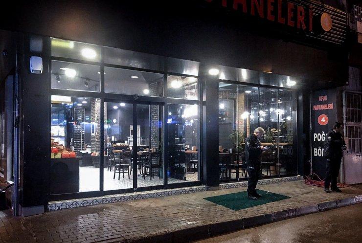 Bursa'da pastaneden hırsızlık girişimi güvenlik kameralarına yansıdı