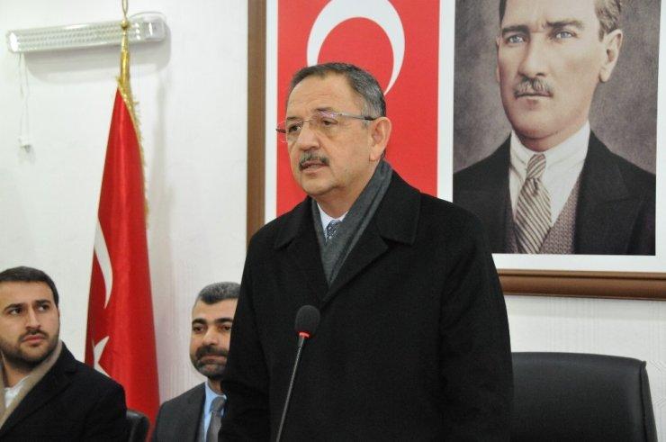 """Mehmet Özhaseki: """"Dünyanın gözü Mezopotamya'nın üzerinde"""""""