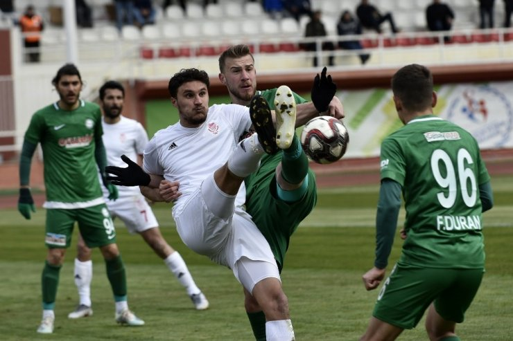 TFF 2. Lig: Gümüşhanespor: 1 - 1922 Konyaspor: 3